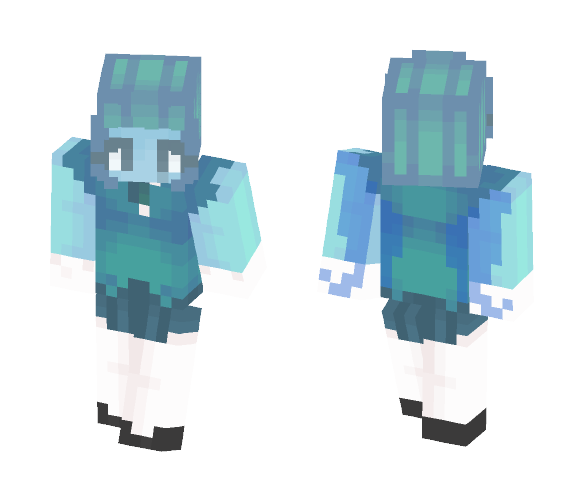"are you ""my dad""? - Female Minecraft Skins - image 1"