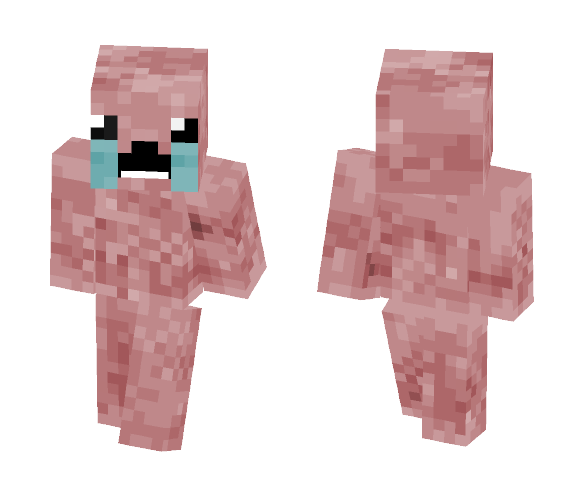 The Binding Of Isaac Minecraft Skin For