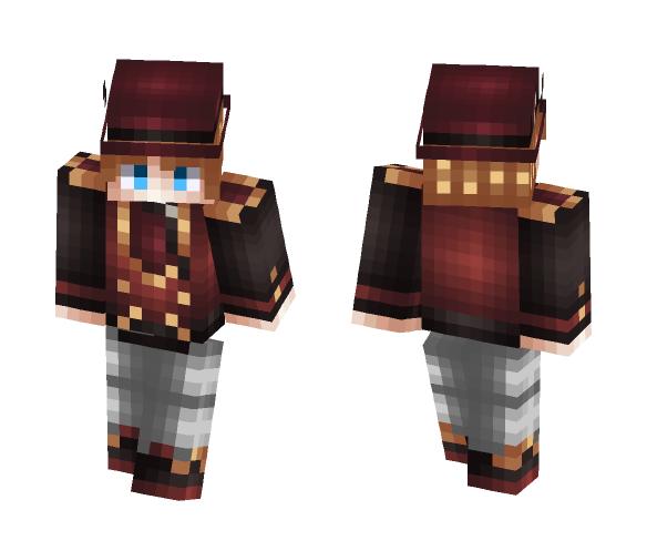 Smoking - My ReShade - Male Minecraft Skins - image 1