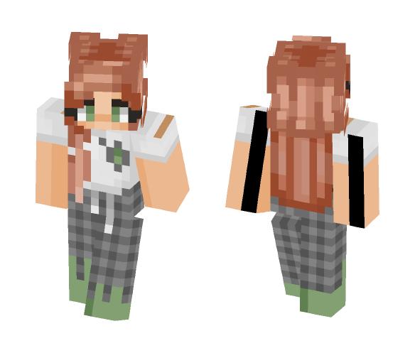 sleepy slytherin - Female Minecraft Skins - image 1