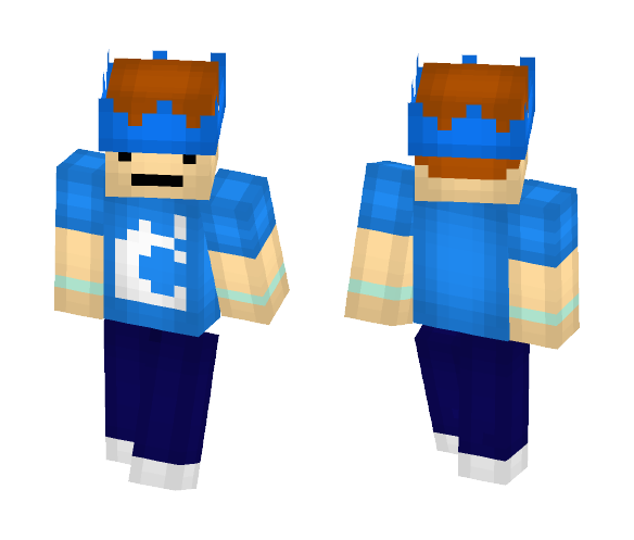 Casual Derp HD (64x64 Version) - Male Minecraft Skins - image 1