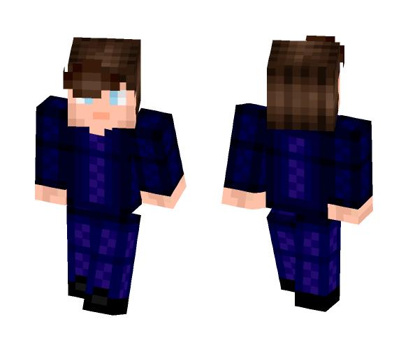 Blue smoking - Male Minecraft Skins - image 1