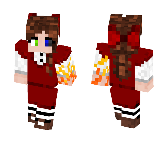 Cursed Young Ro - Female Minecraft Skins - image 1