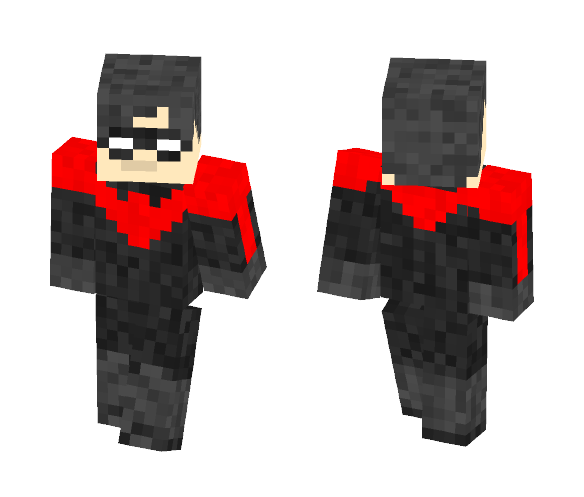 Download Nightwing New 52 Minecraft Skin For Free Superminecraftskins