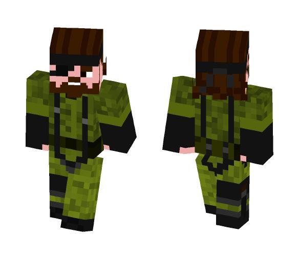 Naked Snake - Male Minecraft Skins - image 1