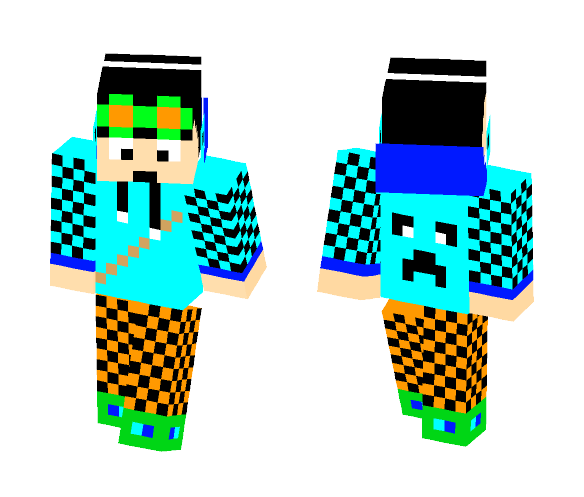 Download Cool boy skin Minecraft Skin for Free