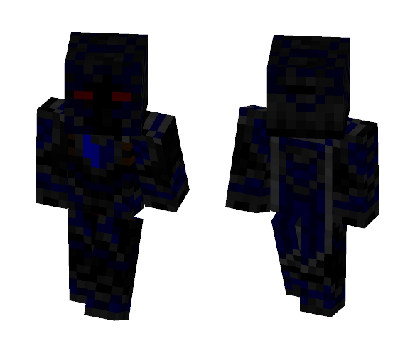 Multi Layer Cyborg Knight - Male Minecraft Skins - image 1