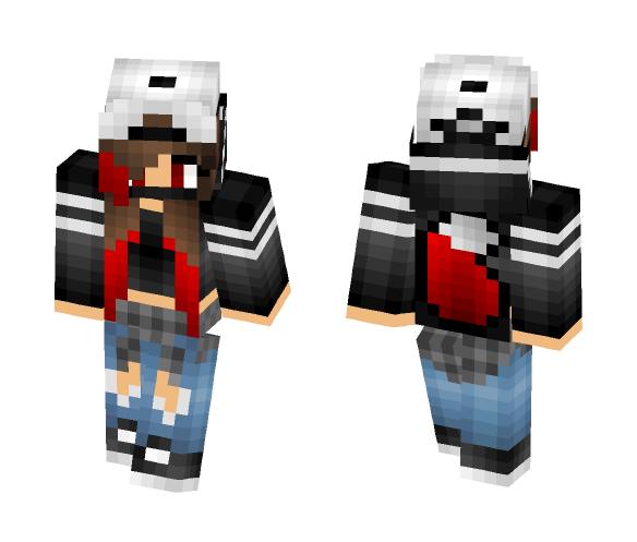 Download Red Wolf Girl Tomboy Minecraft Skin For Free Superminecraftskins