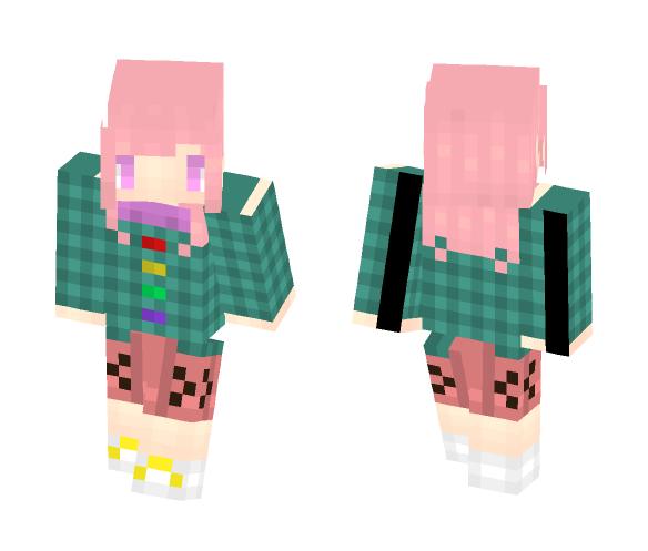 Hata no Kokoro - Female Minecraft Skins - image 1