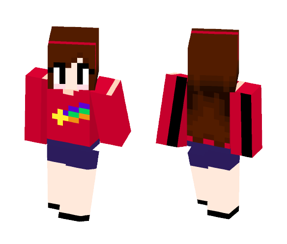 Mabel Pines - Gravity Falls - Female Minecraft Skins - image 1