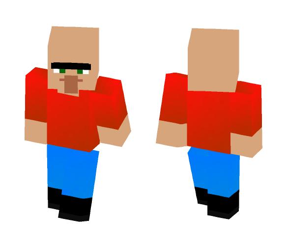 Download Villager New Year Skin Minecraft Skin For Free