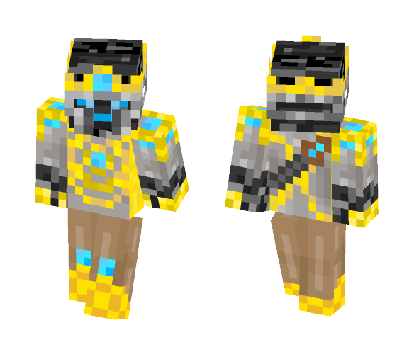 Download Bedrock WitherSkelly/Blue Minecraft Skin for Free ...