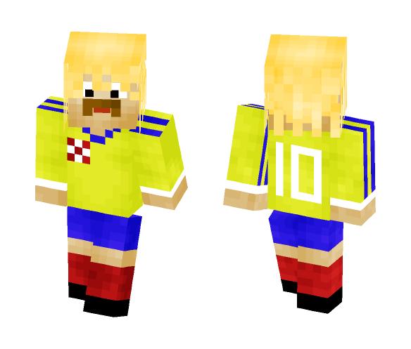 Carlos Valderrama - Male Minecraft Skins - image 1