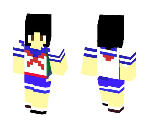 Ayano Aishi (Anime) - Female Minecraft Skins - image 1