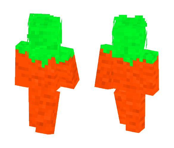 Carrot. - Interchangeable Minecraft Skins - image 1