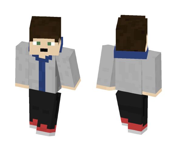 Download Steve-Based Hoodie Boy    Minecraft Skin for Free