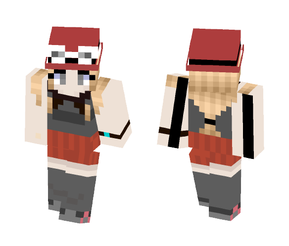 Download Serena Pokemon X And Y Minecraft Skin For Free
