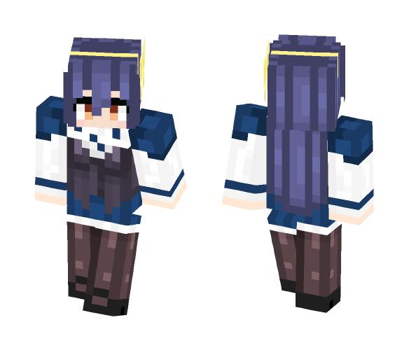 Tomoe Tachibana (Absolute Duo) - Female Minecraft Skins - image 1