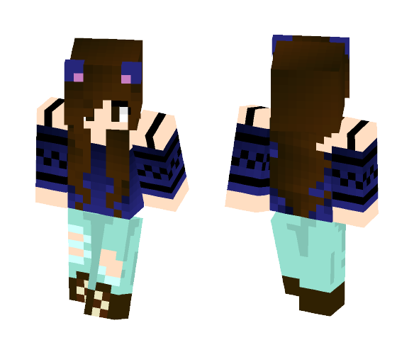 solar_skins//colorful_touch//ig - Female Minecraft Skins - image 1