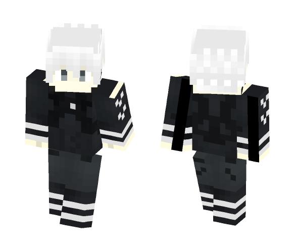 Minecraft Skin Kaneki