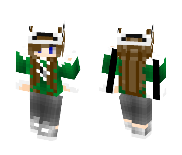 Download ~Music~ -Marching Band Girl- Minecraft Skin for