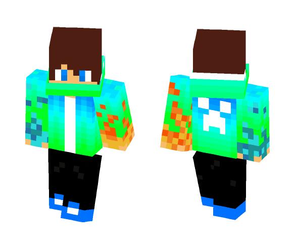 Download Green And Blue Boy Minecraft Skin For Free Superminecraftskins