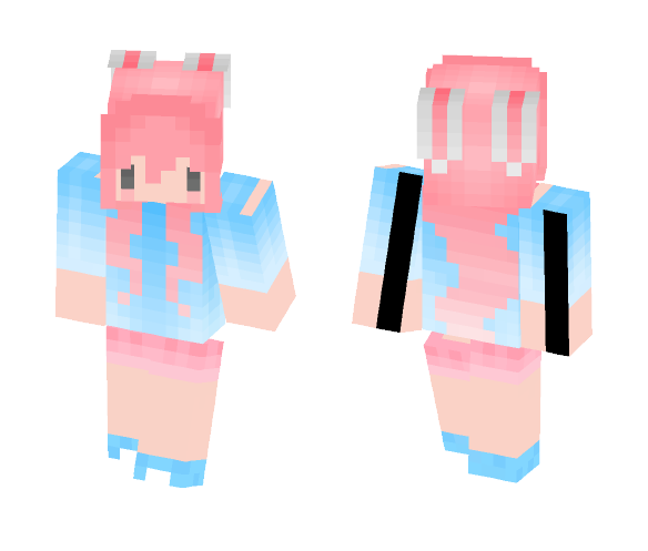 Download Kawaii Chibi Bunny Girl Minecraft Skin For Free Superminecraftskins