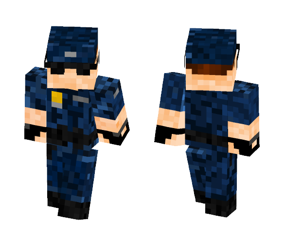 Naval MA Officer - Male Minecraft Skins - image 1