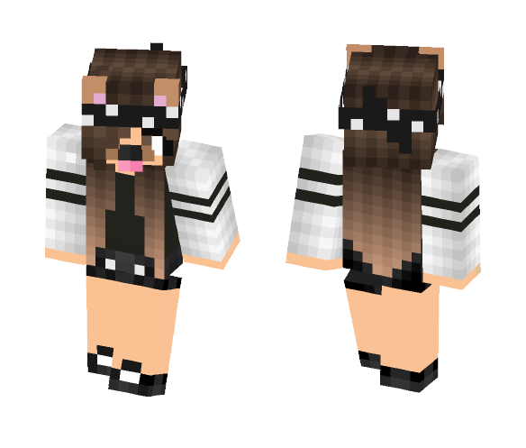 Download Snapchat girl Minecraft Skin for Free