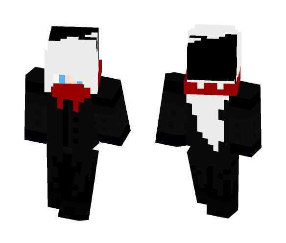 Human Pokemon - Darkrai - Male Minecraft Skins - image 1