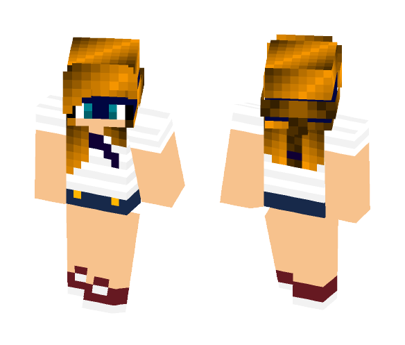 Tmnt Leo School girl - Girl Minecraft Skins - image 1