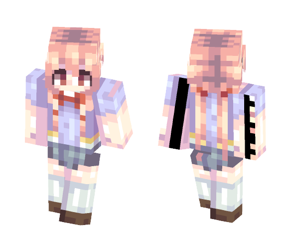 yandere is very yandere. - Female Minecraft Skins - image 1