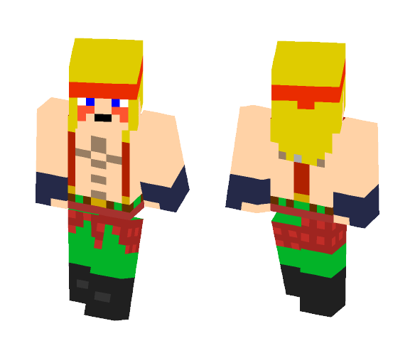 Download Alex Street Fighter V Kinda Minecraft Skin For Free