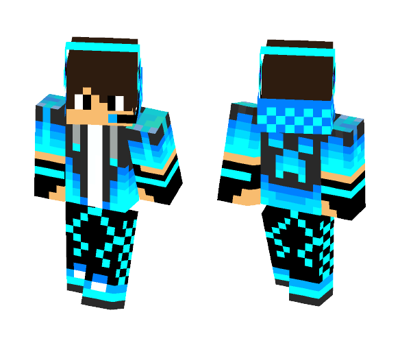 Download Cool Creeper PVP skin Minecraft Skin for Free