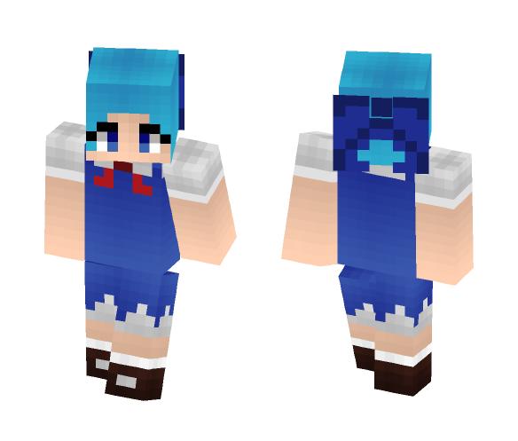Touhou - Cirno - Female Minecraft Skins - image 1