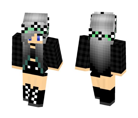 Emo girl - Male Minecraft Skins - image 1
