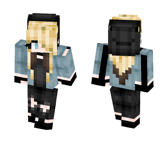 ✝ BMTH girl ✝ - Female Minecraft Skins - image 1