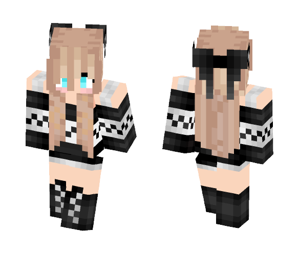 Download Cute Wolf Girl Minecraft Skin For Free Superminecraftskins