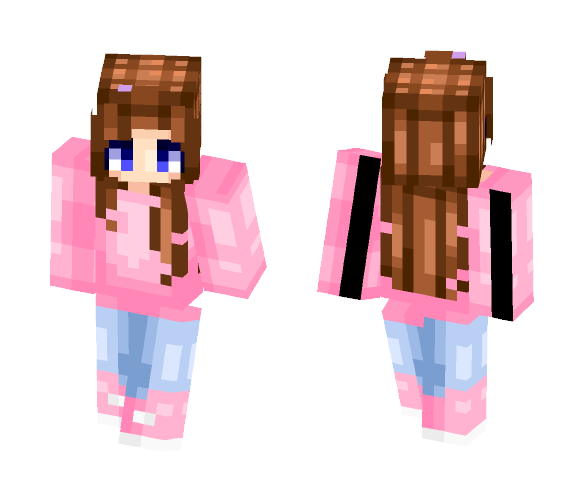 casual (better in 3D) - Female Minecraft Skins - image 1