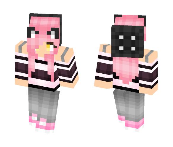 Neko Girl v2 - Girl Minecraft Skins - image 1