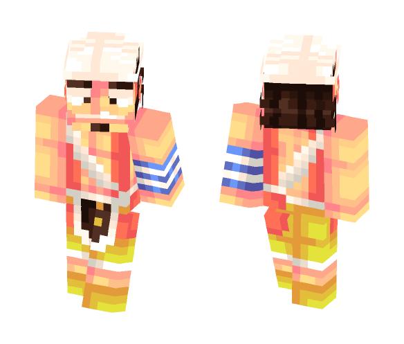 Download God Usopp - one piece Minecraft Skin for Free