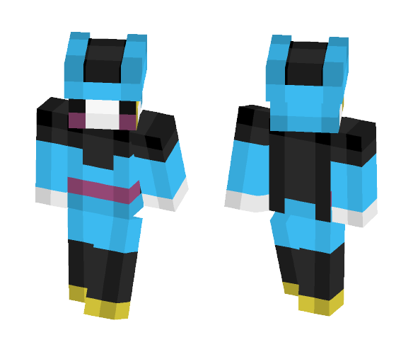 Download 4 Bit Cell Jr Dragon Ball Z Minecraft Skin For Free