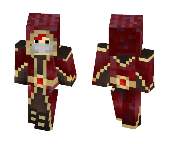 Sam Adhorrent Robes - Male Minecraft Skins - image 1
