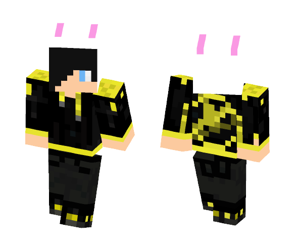 Download Blizzard in hunger games Minecraft Skin for Free