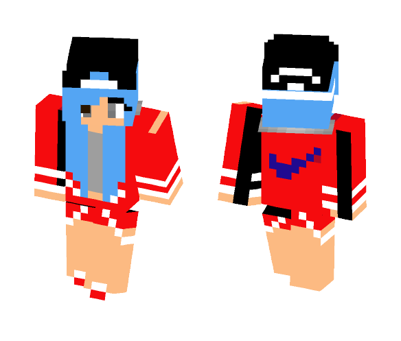 5c0af8f9b8 Download nike girl update not the best minecraft skin for free png 584x497 Nike  girl skins