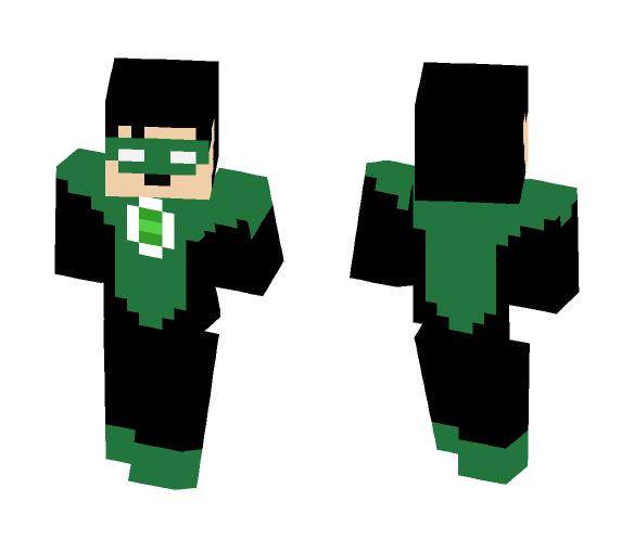 Green Lantern (Kyle Rayner) - Comics Minecraft Skins - image 1