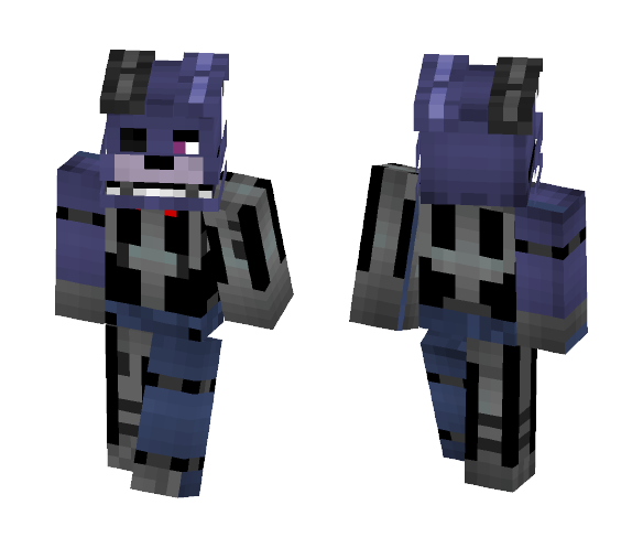 MC FNAF RP - Unfinished Bonnie - Male Minecraft Skins - image 1