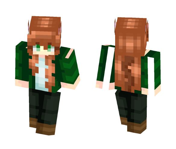 OC -- Faline (Neko) - Female Minecraft Skins - image 1