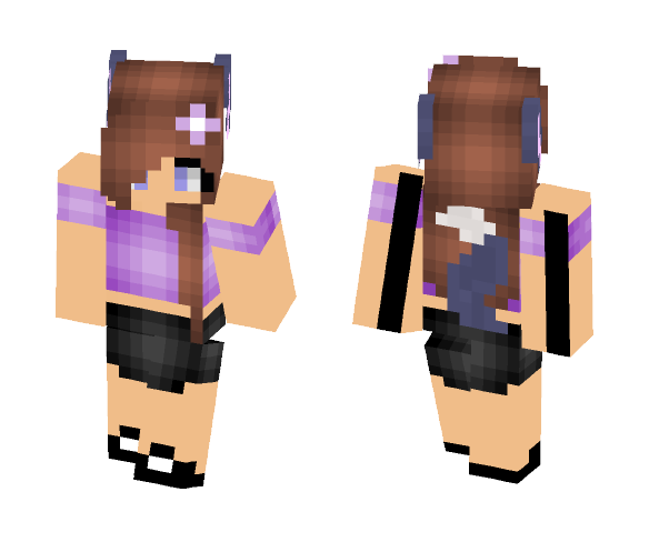 Werewolf OC! Party Outfit - Female Minecraft Skins - image 1
