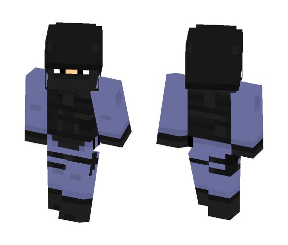 CS:GO Counter terrorist - Male Minecraft Skins - image 1
